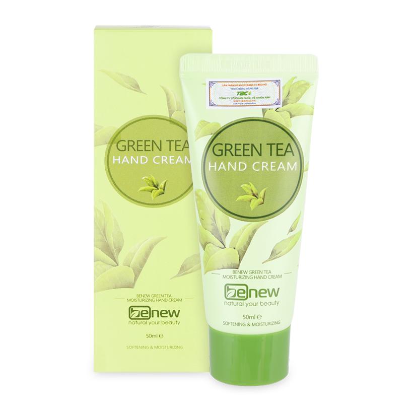 Green tea hand lotion