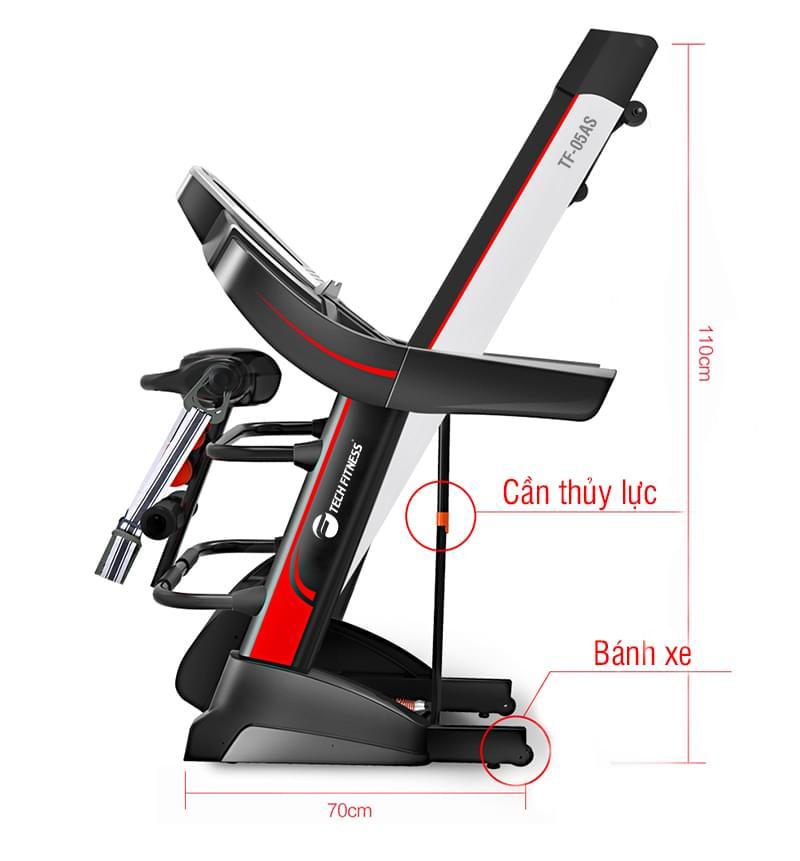 gập gọn Máy chạy bộTech fitness TF-05A