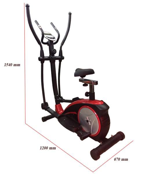 kích thước xe đạp tập thể dục Viking VK-8601HA