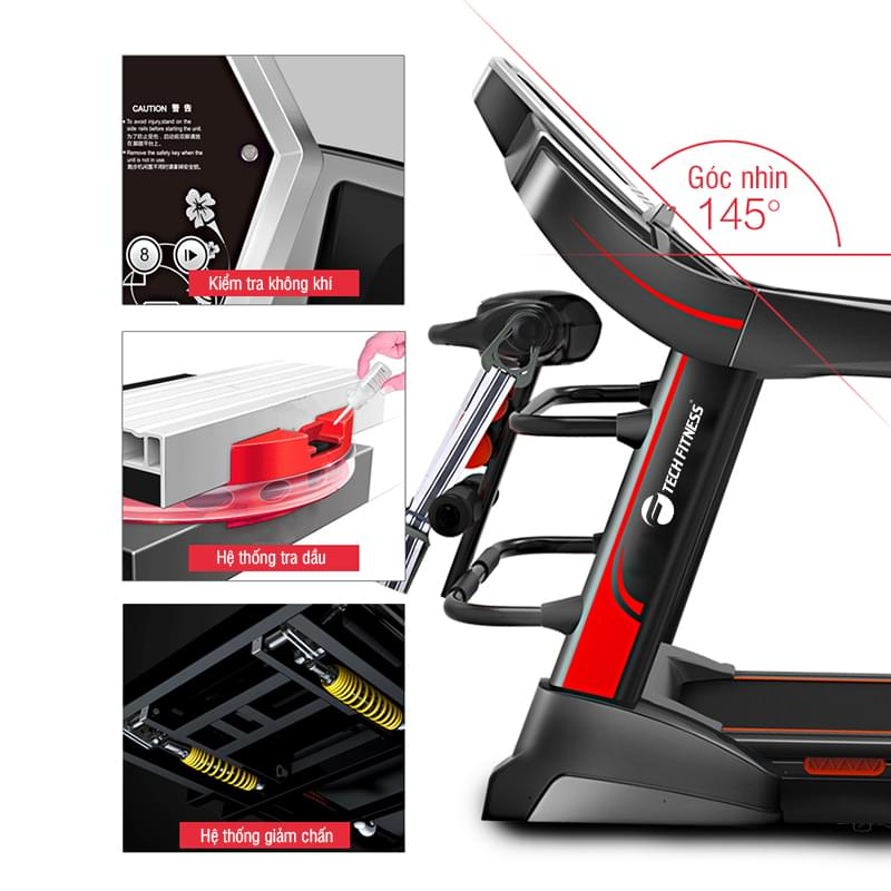 Máy chạy bộTech fitness TF-05A
