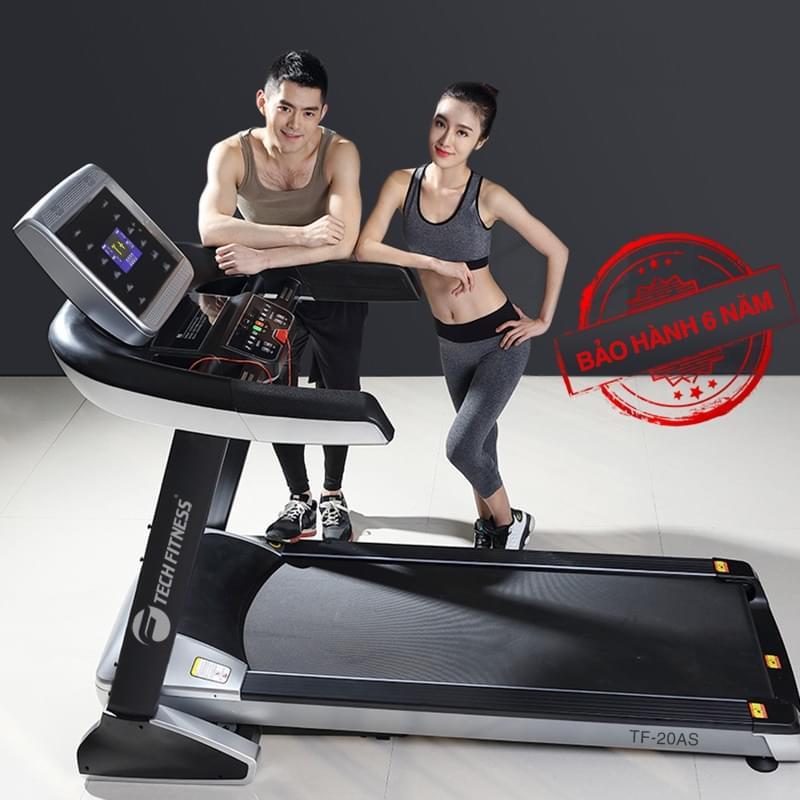 máy chạy bộ tech fitness 20as