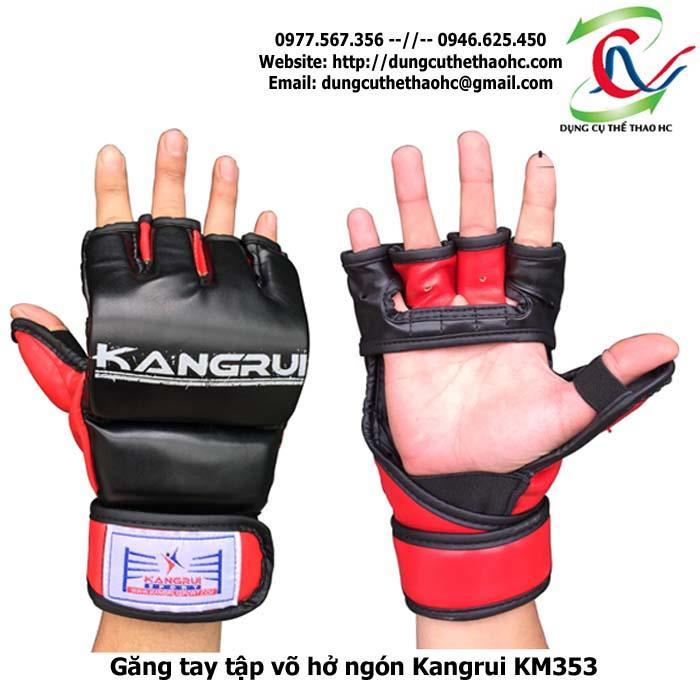 Hình ảnh thực tế găng tay xỏ ngón Kangrui KM353