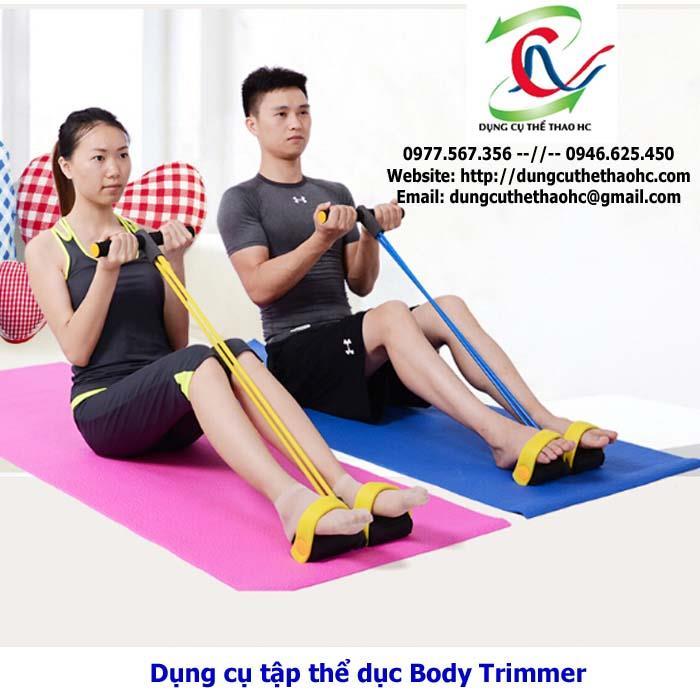 Bài tập với máy tập thể dục Body Trimmer