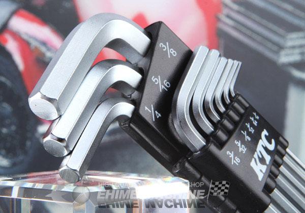 Bộ lục giác hệ inch, lục giác hệ inhc, cỡ đến 3/8 inch, KTC HL259BSP
