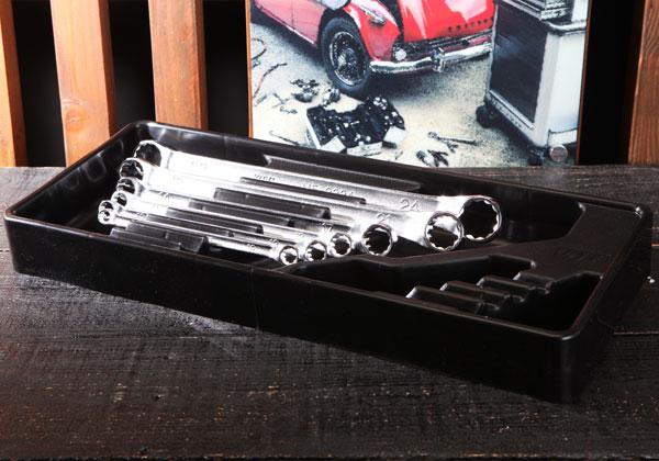 Bộ tròng KTC TM506, bộ tròng 6 chiếc trong khay nhựa,