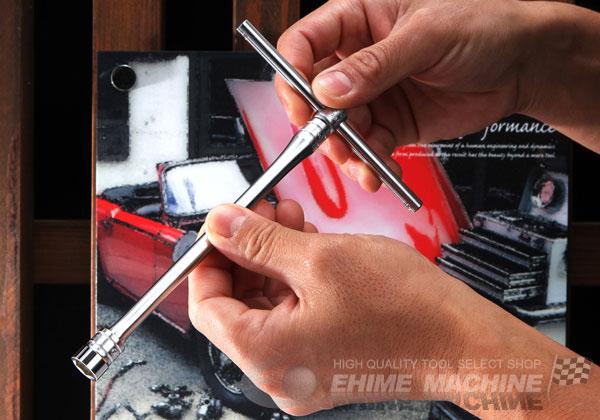 Tay trượt KTC loại 3/8 inch, cần siết kiểu tay trượt, tay trượt 3/8 inch, KTC BHM3,