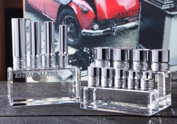 Bộ đầu khẩu 3/8 inch, bộ đầu khẩu KTC, B3L-08, B3L-10, B3L-12