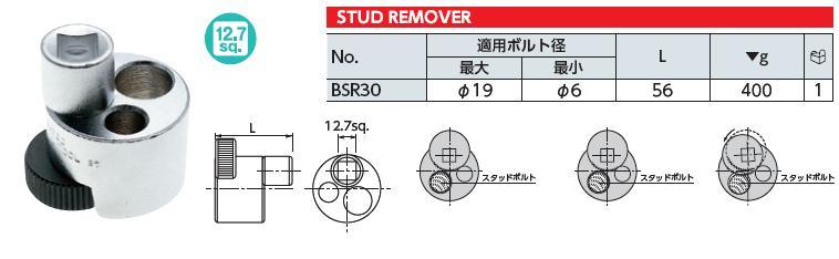 Dụng cụ tháo gu dông, KTC BSR30, dụng cụ tháo ren