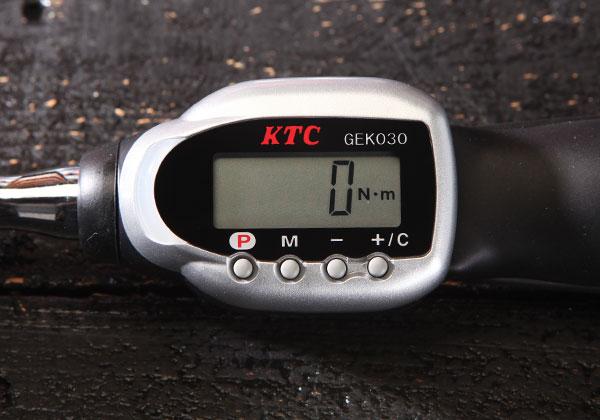 Cờ lê lực KTC, KTC GEK030-C3A, cần xiết lực điện tử 3/8 inch