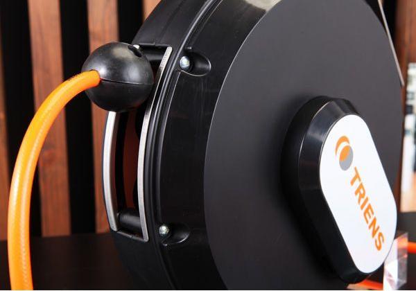 Cuộn dây thu tự động, cuộn dây tự động, cuộn dây khí thu tự động, cuộn ống hơi màu đen, THS-210NR,