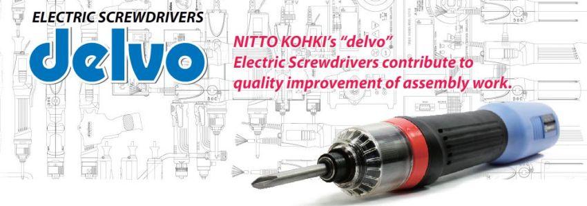 Tô vít lực điều chỉnh lực dòng DLV, tô vít lực Delvo của Nitto Kohki