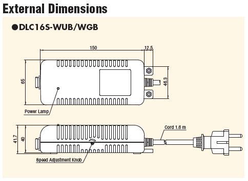 Bộ chuyển đổi điện Delvo, DLC16SL Delvo, Delvo DLC16S-WGB
