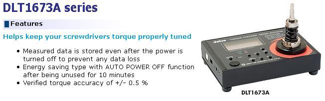 Delvo DLT1673A, máy cân chỉnh lực xiết dùng cho tô vít lực, máy cân chỉnh lực 0.15-10Nm,