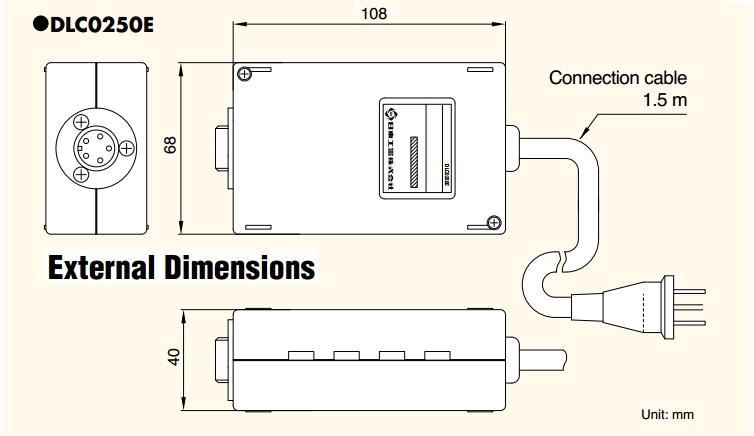 Bộ dổi điện áp, Delvo DLC0250E, bộ đổi điện dùng cho tô vít điện,