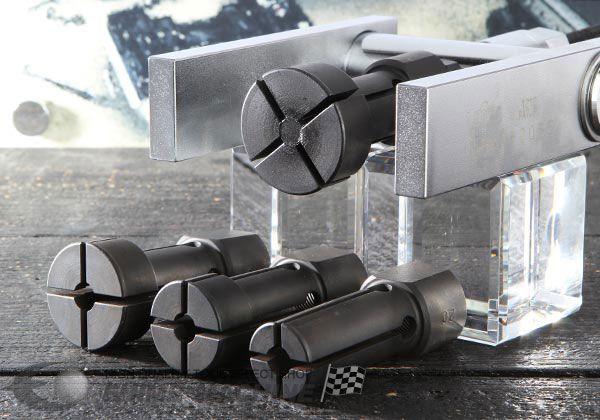 Bộ vam tháo bi với 4 đầu, vam tháo bi với các cỡ 10, 12, 15, 17mm, dụng cụ tháo ổ bi