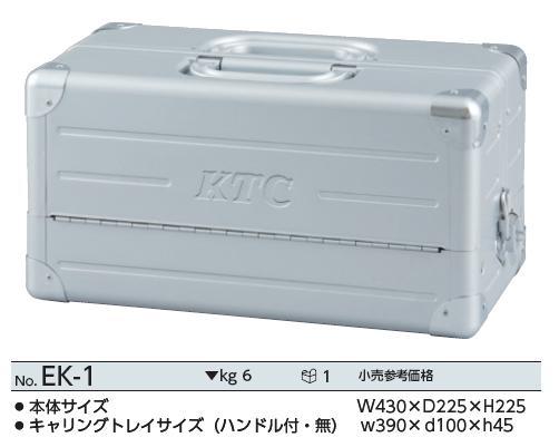 Hộp đựng đồ nhập khẩu, hộp dụng cụ nhập khẩu từ Nhật, KTC EK-1