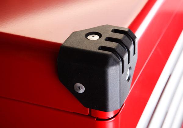 Các góc được bọc nhựa cao cấp, hộp đựng dụng cụ sửa chữa ô tô, EKR-1003R,