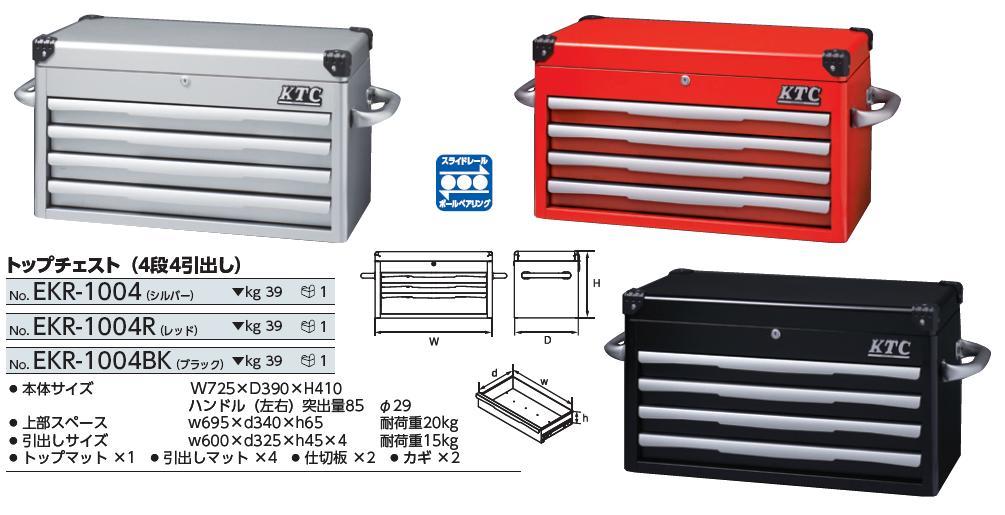 Hộp đựng đồ, thùng đựng đồ nghề, KTC EKR-1004, EKR-1004R