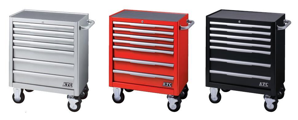 Xe dụng cụ 7 ngăn kéo, xe đựng dụng cụ KTC, xe đẩy 7 ngăn kéo, EKW-1007