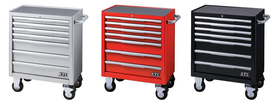 Xe dụng cụ KTC 7 ngăn kéo, xe đẩy loại 7 ngăn kéo, KTC EKW-1007, EKW-1007R