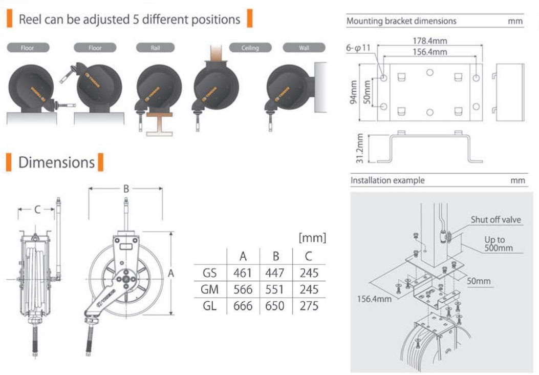 Cuộn ống hơi dùng cho công nghiệp, cuộn dây khí, dây dẫn nước,
