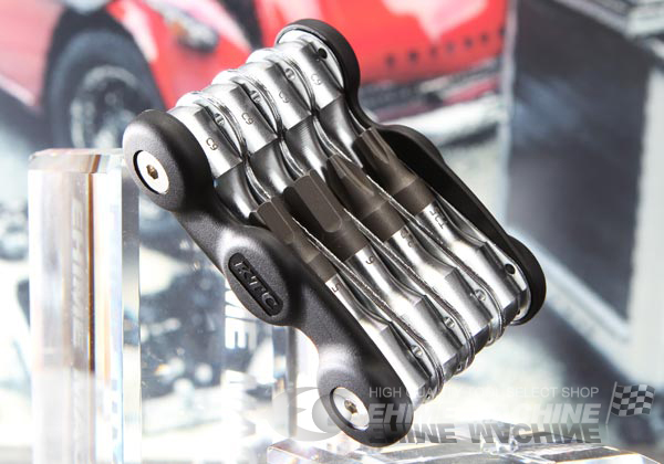 Bộ lục giác từ 2.5 đến 8mm, bộ chìm sửa xe đạp, KTC HLM08, bộ dụng cụ với 8 cỡ lục giác
