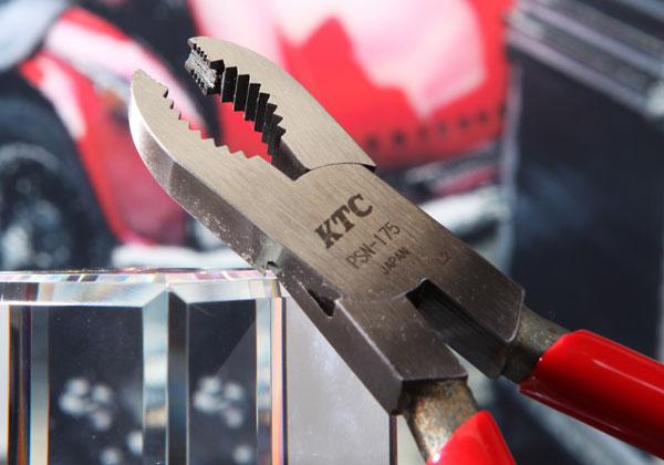 Kìm kẹp đầu ốc bị gỉ, kìm chuyên vặn đầu ốc gỉ, kìm KTC PSN-175