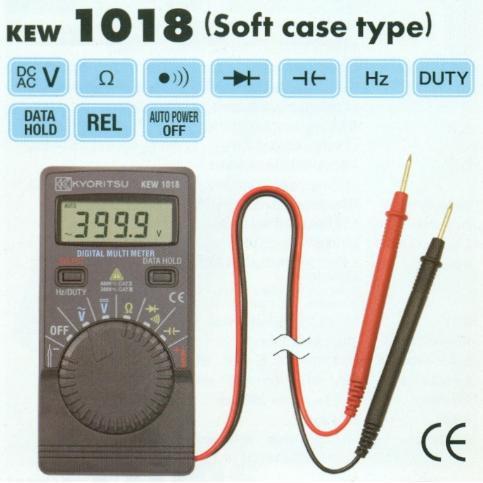 Đồng hồ đo điện Kyoritsu K1018, Kyoritsu K1018, đo điện vạn năng