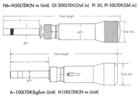 Thông số tô vít lực Kanon, Kanon CN300LTDK, tô vít lưc, dải lực 40-300cNm