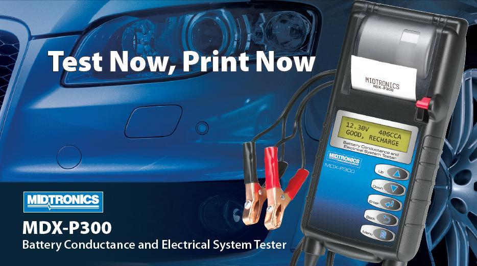 Thiết bị kiểm tra có chức năng in kết quả, thiết bị kiểm tra chuyên cho ô tô, kiểm tra ắc quy cho dòng Toyota, Honda