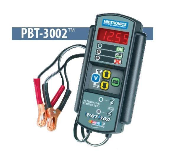 Thiết bị kiểm tra đánh giá bình điện PBT-300, Midtronics PBT-300, kiểm tra đánh giá bình điện ô tô