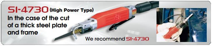 Máy cưa Shinano, Shinano SI-4730, máy cưa khí, máy cưa khí cầm tay