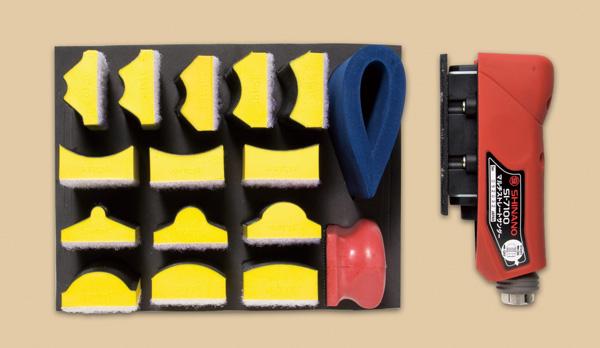 Máy chà nhám tịnh tiến, SI-7100S, nhiều loại đế nhám khác nhau
