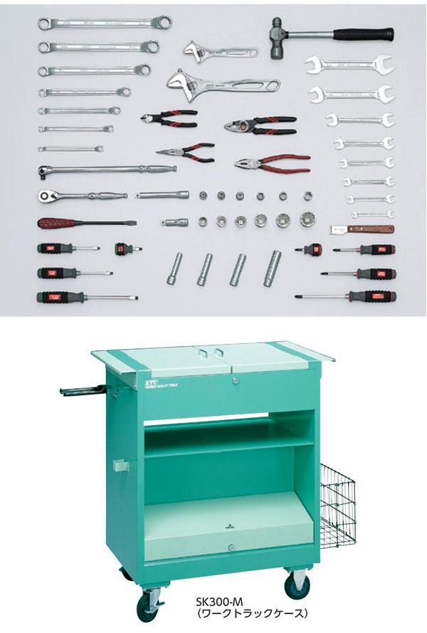 Bộ dụng cụ nhập khẩu, SK300A KTC, SK300AT, An Khánh phân phối KTC