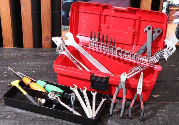 Bộ dụng cụ tháo lắp xe đạp, dụng cụ sửa xe đạp, bộ dụng cụ tháo lắp xe đạp, bộ dụng cụ sửa xe đạp nhập khẩu, KTC SK34014CY