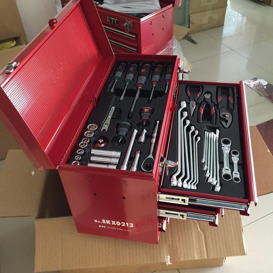 Bộ dụng cụ 56 chi tiết, hộp dụng cụ SKX0213,