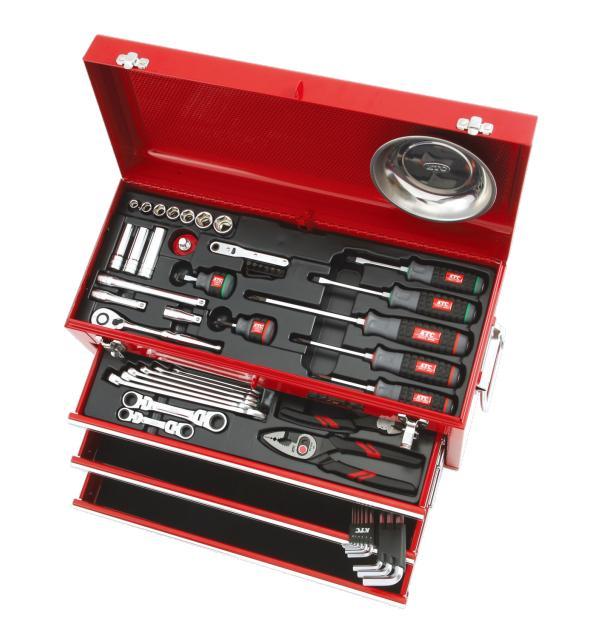Bộ dụng cụ sửa xe máy, KTC SK3567X, bộ đồ nghề sửa xe