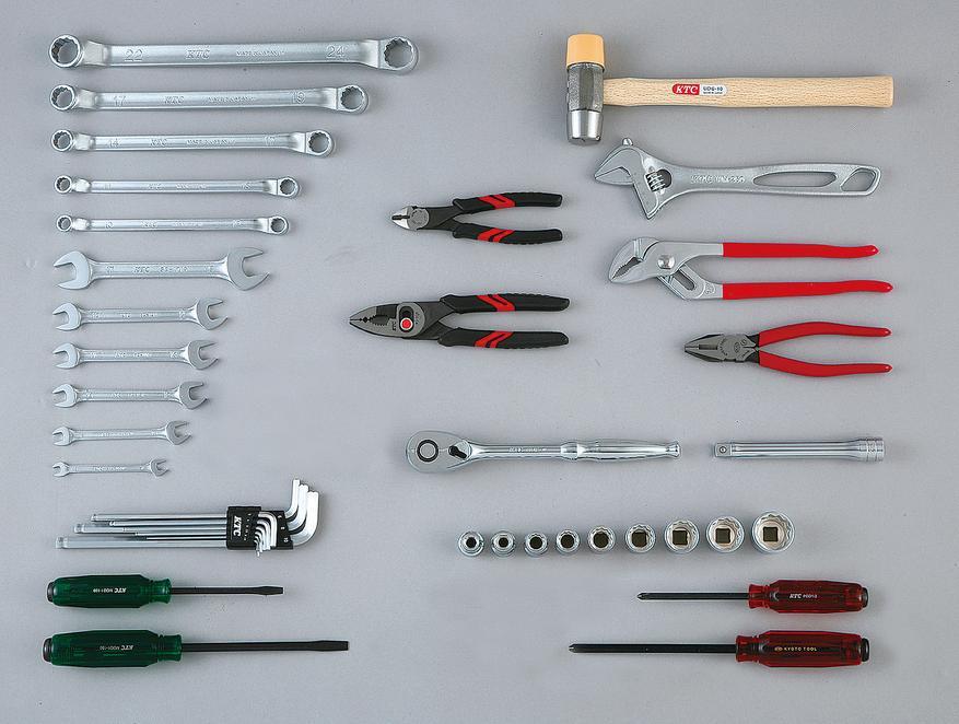 Bộ dụng cụ 41 chi tiết, KTC SK4418WM, bộ dụng cụ cơ khí, bộ dụng cụ nhập khẩu