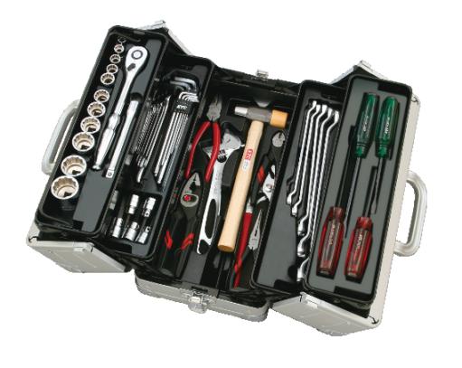 Bộ dụng cụ KTC SK4518WM, bộ dụng cụ sửa chữa cơ khí, bộ dụng cụ sửa chữa,