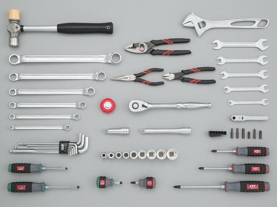 Bộ dụng cụ KTC SK4520W, bộ dụng cụ 52 chi tiết, KTC SK4520W