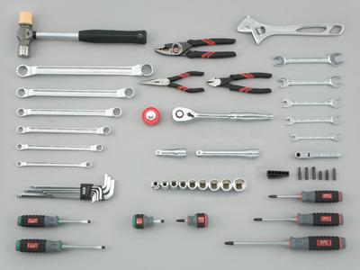Bộ dụng cụ cầm tay SK4526PT, bộ đồ 52 chi tiết, bộ dụng cụ với khẩu 1/2 inch