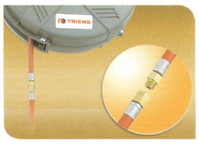 Cuộn dây khí tự rút, cuộn ống hơi nhập khẩu, Triens SHR-15Z