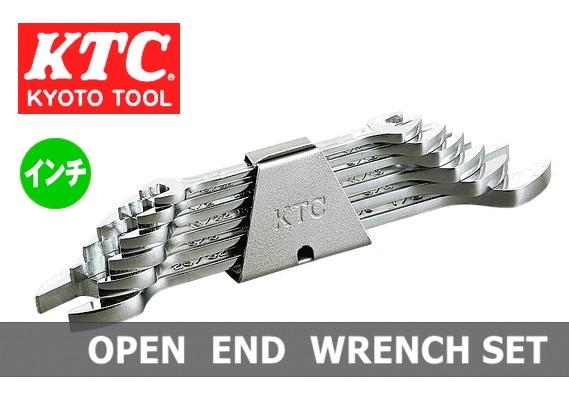 Bộ cờ lê hệ inch, KTC TS206A, bộ cờ lê mở hệ inch