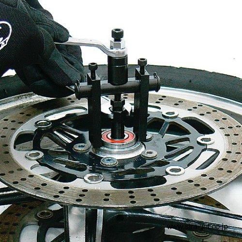Cách tháo ổ bi dùng vam, vam chuyên dùng tháo ổ bi, dụng cụ chuyên dùng cho xưởng Yamaha