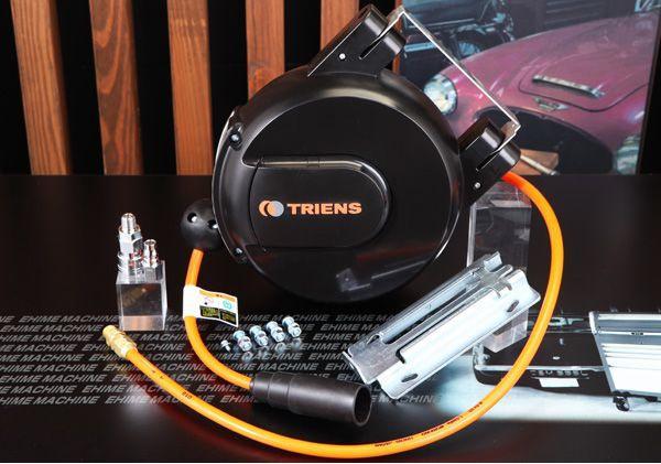 Cuộn dây khí nén dài 6m, dây 6.5mmx 10mm, cuộn dây khí, cuộn dây tự rút dùng cho xưởng xe máy