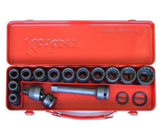 Bộ đầu khảu 1/2 inch 14245M-00 Koken, đầu khẩu vặn ốc với hộp đựg