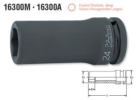 Đầu tuýp Koken 3/4 inch, 16300M Koken, đầu khẩu Koken dùng cho súng 3/4 inch