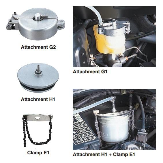 Bộ bát nối bình dầu phanh, KTC ABX70-H1, ABX70-G2, ABX70-E1