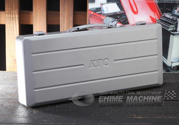 Hộp đựng bộ tuýp với 13 tuýp 6 cạnh, KTC TB413 loại 1/2 inch,
