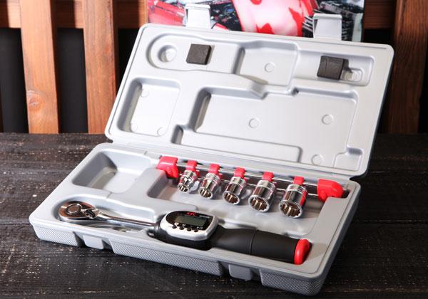 Cờ lê lực KTC, KTC GEK085-R3, cần xiết lực điện tử 3/8 inch, cân lực 3/8 inch